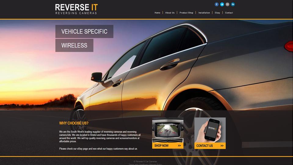 Reverse IT Car Cameras