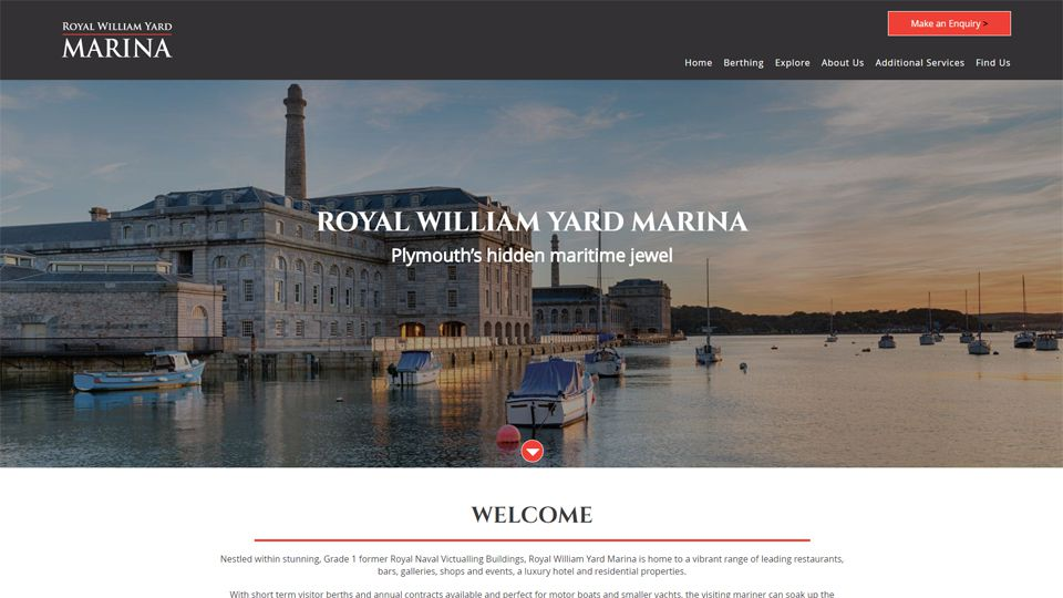 Royal William Yard Marina
